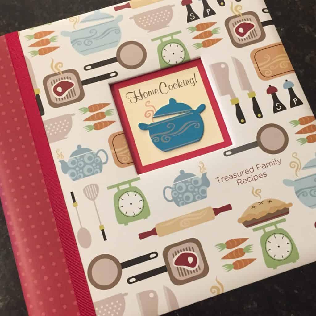 Treasured Family Recipe Binder
