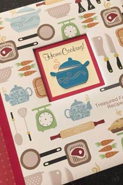 Treasured Family Recipe Binder