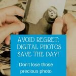 digital photo memories pin