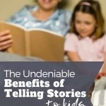Benefits of Story Telling to Kids