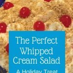 The perfect whipped cream salad recipe