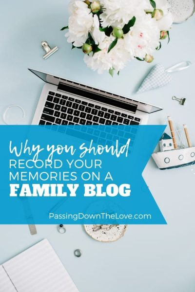 Hobby blogging for family memories