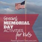 Memorial Day Activities with Kids