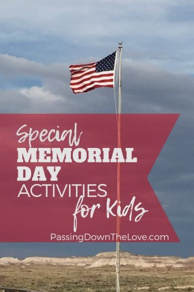 Memorial Day Activities with Kids