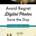 save digital photos pin