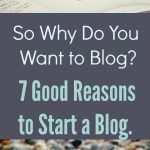Starting a Blog. 7 reasons to blog. Why should you start a blog?