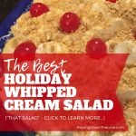 The Best Whipped Cream Salad