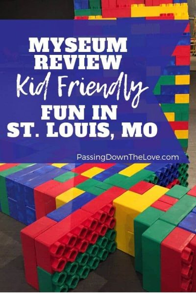 Myseum Review St. Louis Missouri fun for kids