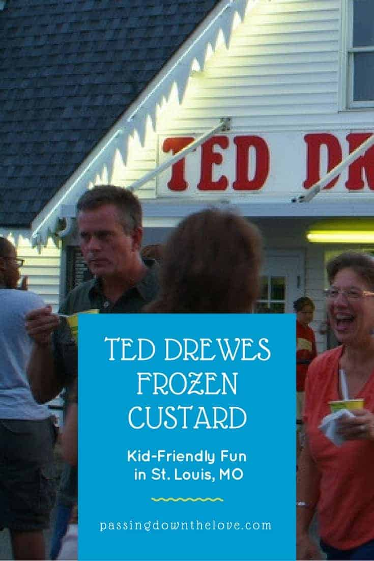 Fun things to do in St. Louis, MO Ted Drewes Frozen Custard