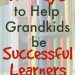 Grandparents helping kids become successful learners