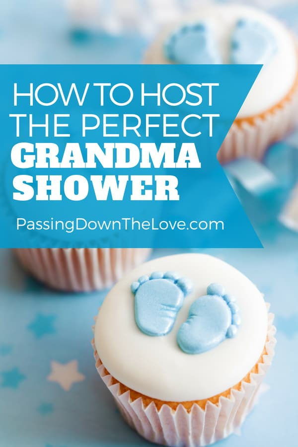 Host a Grandmother shower for the new grandma.  Here are some ideas for a baby shower for the grandma-to-be.  Celebrate the new grandmother. #babyshower #grandmashower #grandmother #showergames #newgrandma