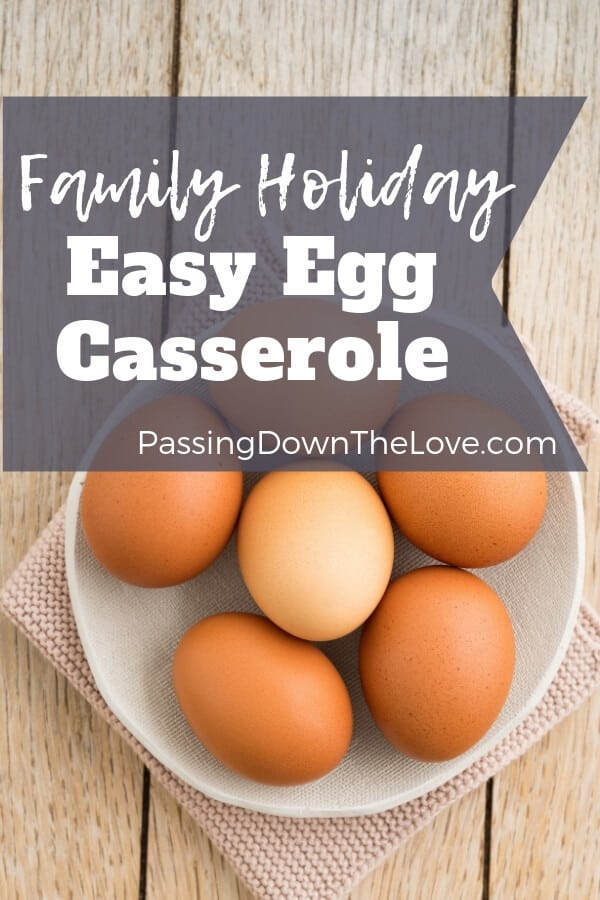 Easy Holiday Egg Casserole