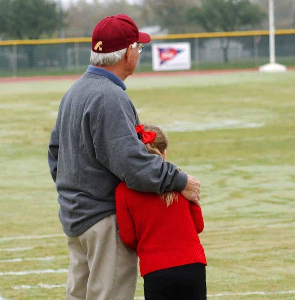 Sharing a love of sports - baseball