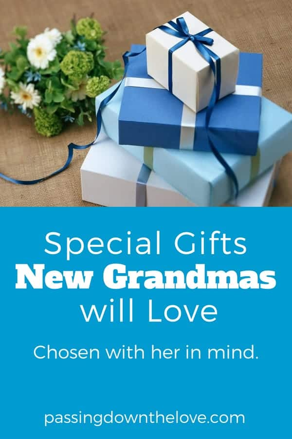 Gifts for new Grandmas
