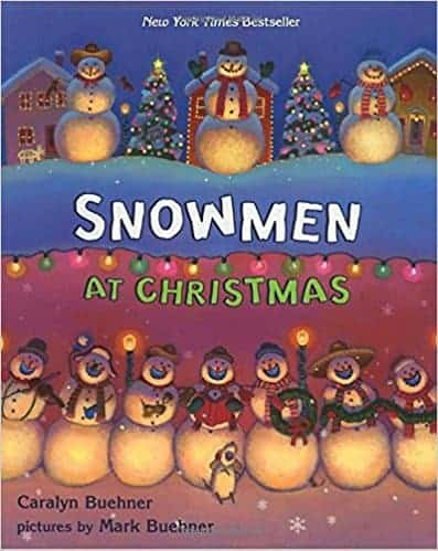 Snowmen at Christmas a favorite kids book for christmas