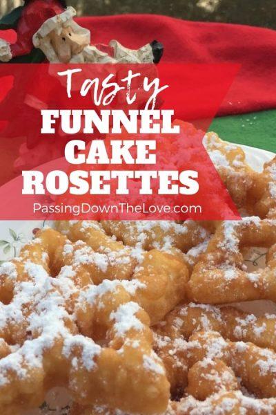 Tasty Funnel Cake Rosettes