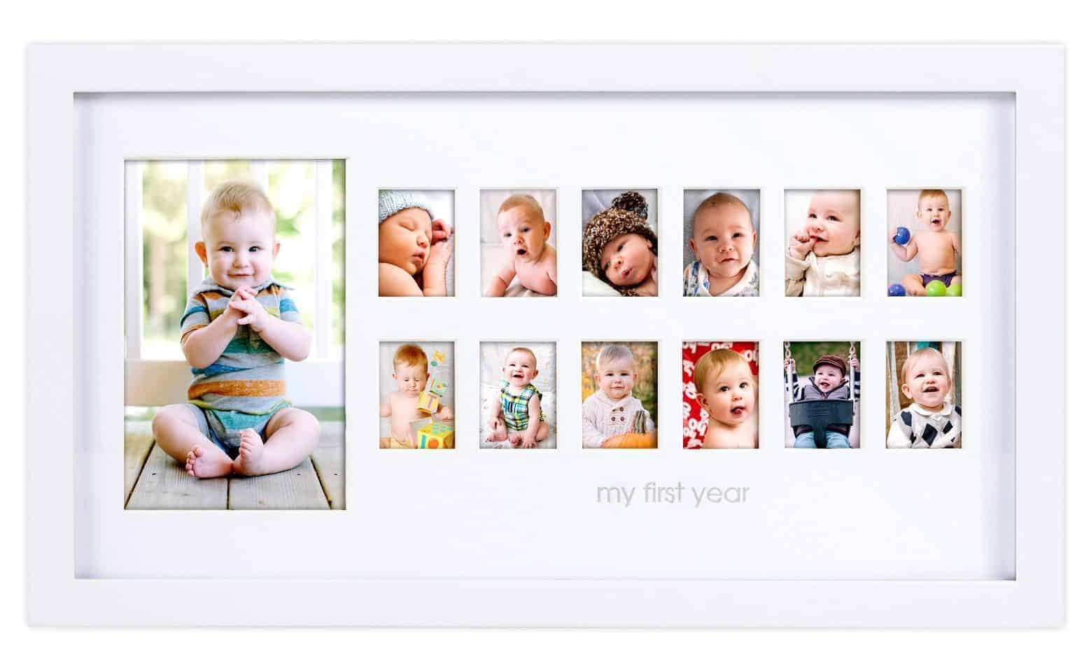 Frame Gift for the New Grandma: Pearhead Photo Moments Frame ...