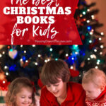 Kids reading Christmas books