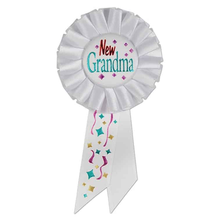 Gifts for new Grandmas. Pass around the award for newest Grandmother