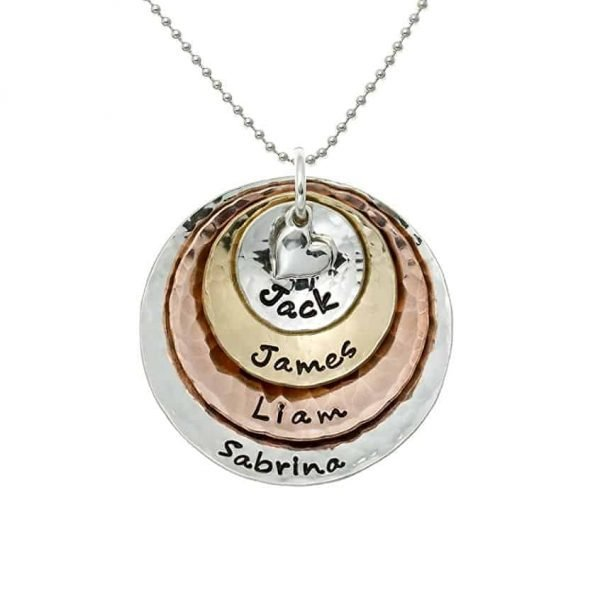 A gift of personalized necklace for Grandma