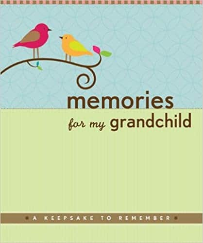 Gift ideas for new Grandmas: Book Memories for my Granchild