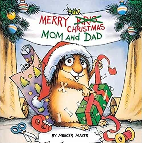 Little Critter Christmas book, a kids favo