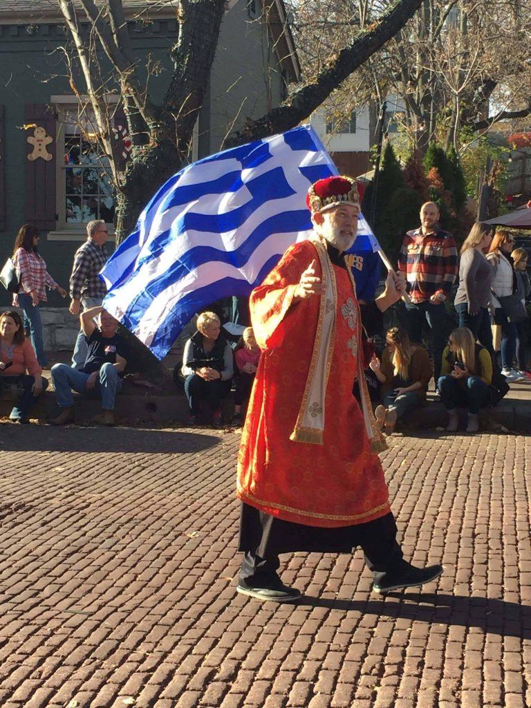 Christmas Traditions Santa Parade