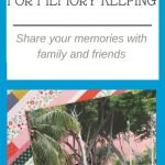 start a blog for memory keeping