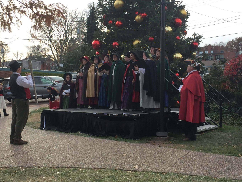 Christmas Traditions carolers