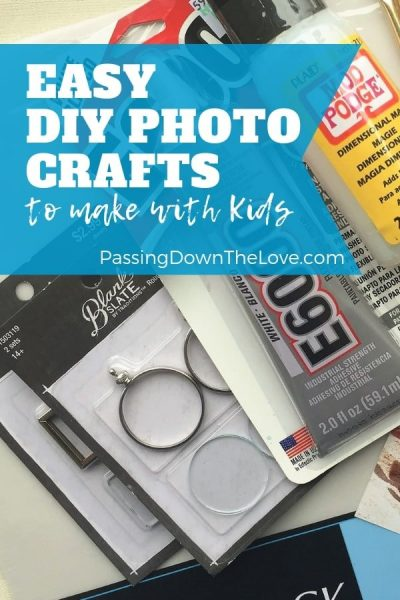 DIY Photo Craft gifts