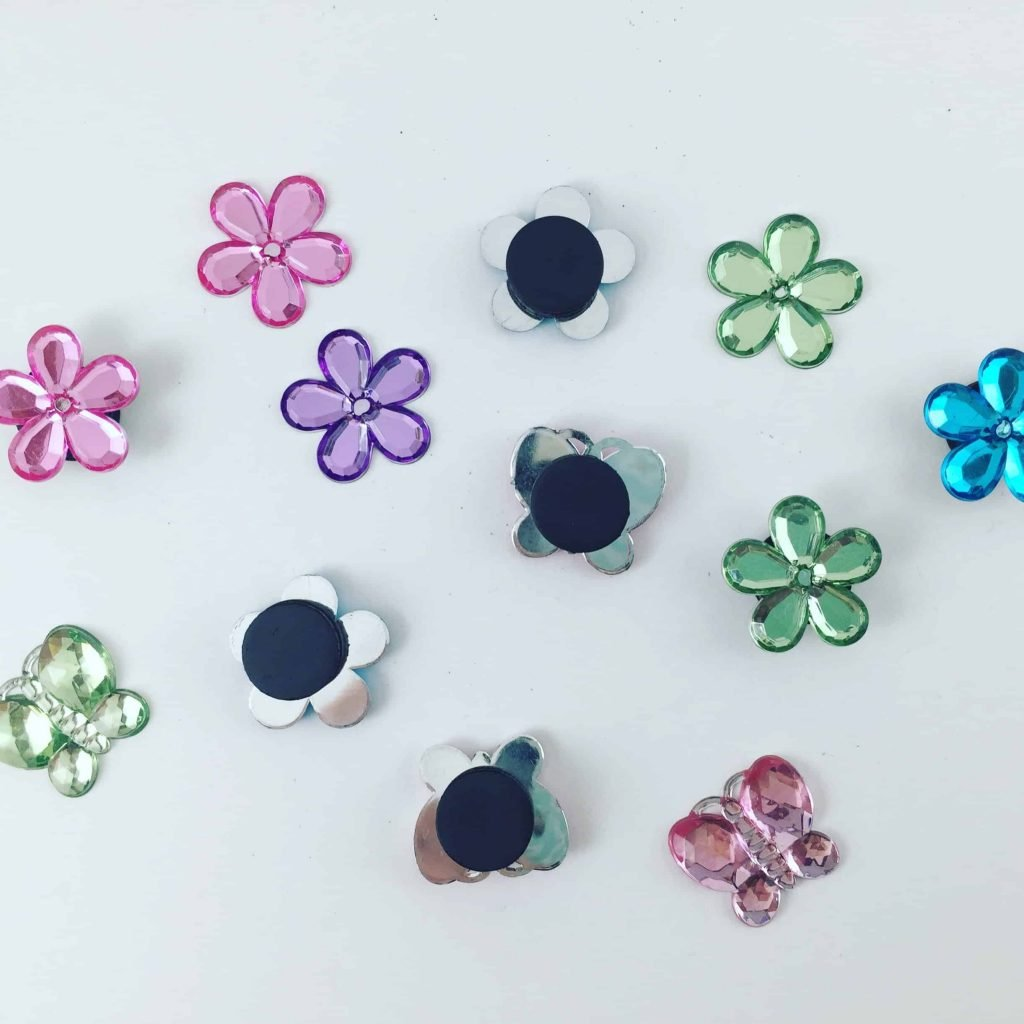 Dollar tree Flower Refrigerator magnets