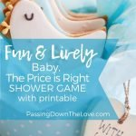 baby the price is right ShowerGame