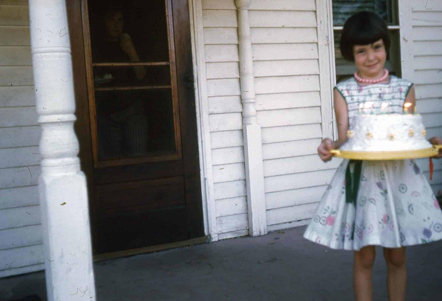 angel food cake birthday