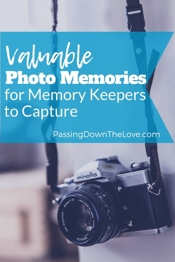 photo memories for memory keepers to capture