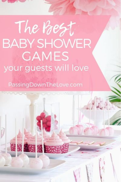 Best baby shower games