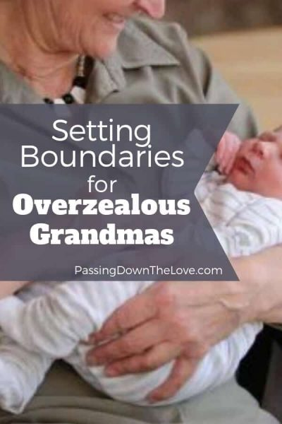 Setting Boundaries for Grandmas