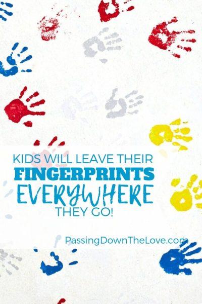Fingerprints on your heart