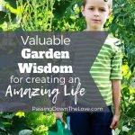 Wisdom from the Garden