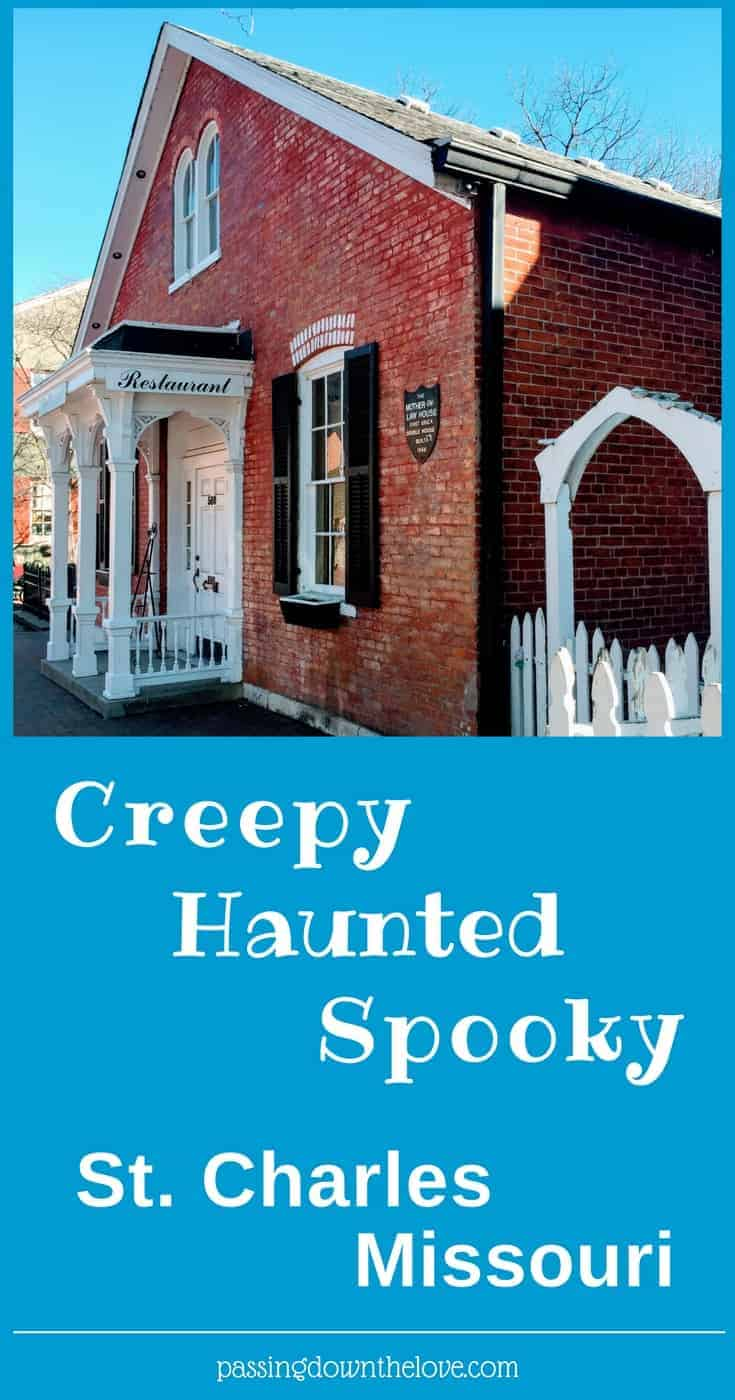 St. Charles, Missouri is haunted if you believe the masses. To check it out for yourself, here is a list of scary, ghostly places you can visit.