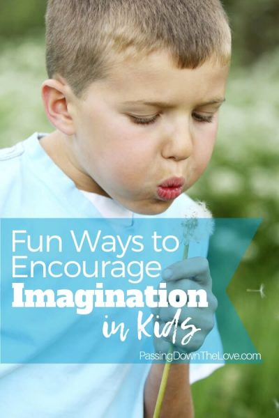 Encourage Kids Imagination