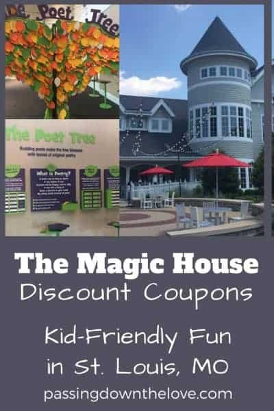The Magic House Coupons:  Kid-Friendly Fun in St. Louis
