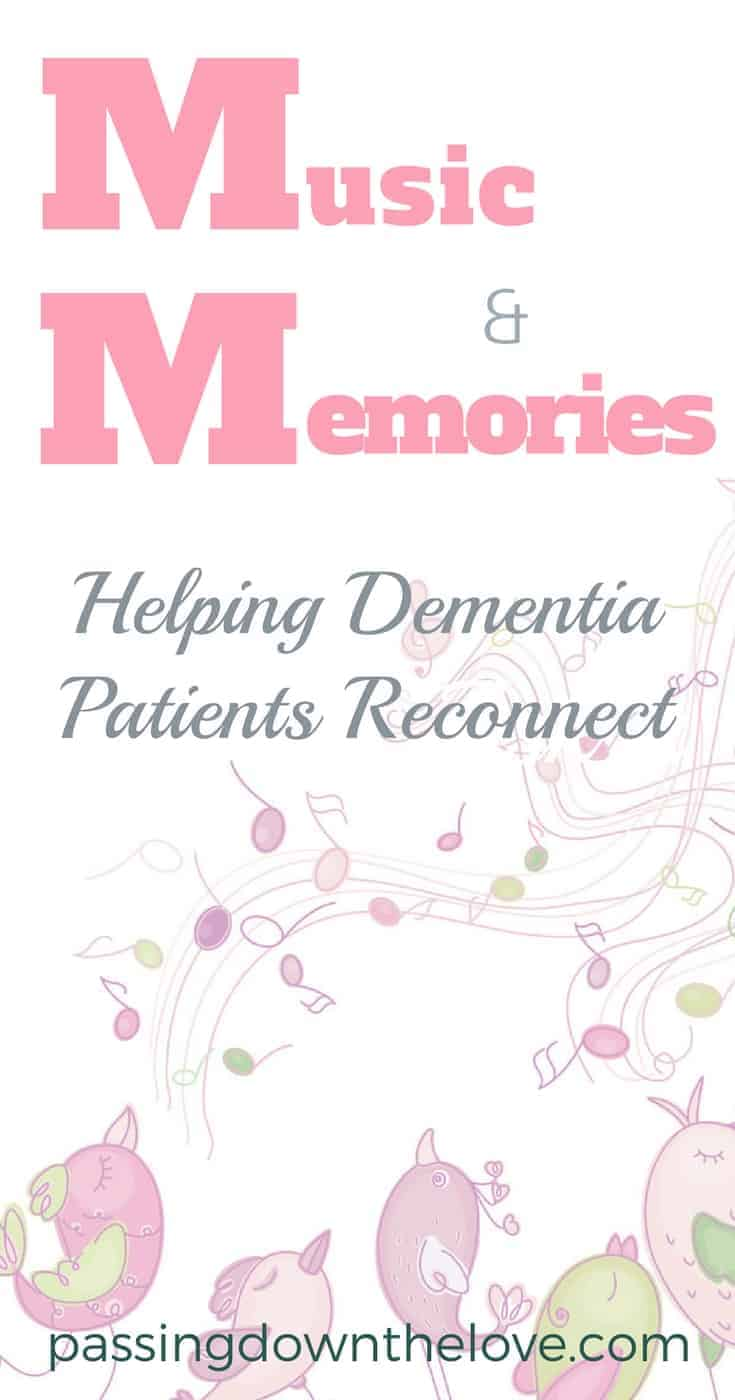 Music and Memory.  The relationship is intertwined.  Here is a program that is helping dementia patients in a new way.