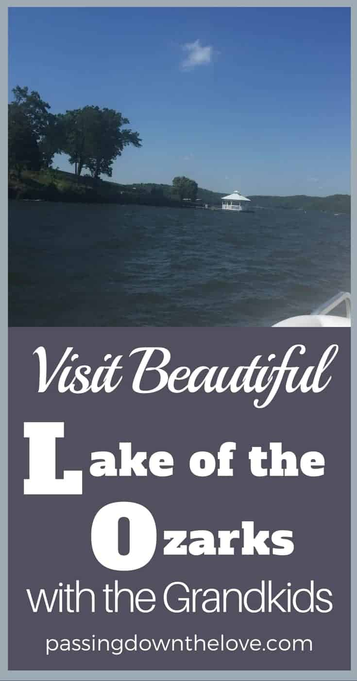 Make memories with your Grandkids at Lake of the Ozarks. Here are some ideas of things to do with Grandkids at the Lake of the Ozarks. #Lake of the Ozarks