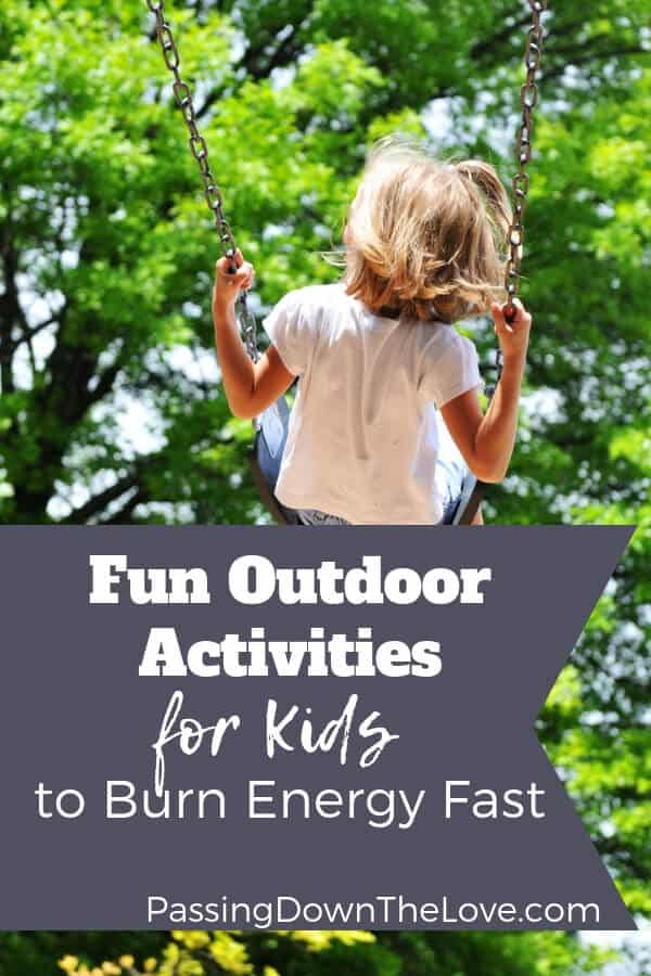 Fun activities for kids to burn energy fast