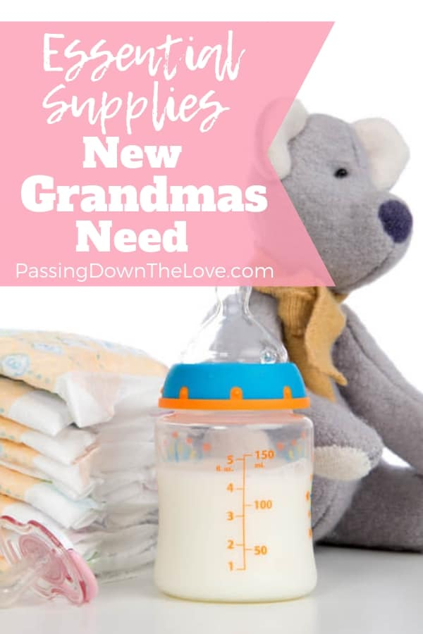 3a9bdeef3 Supplies Every New Grandma Needs for her New Grandbaby