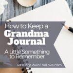 Grandma journal