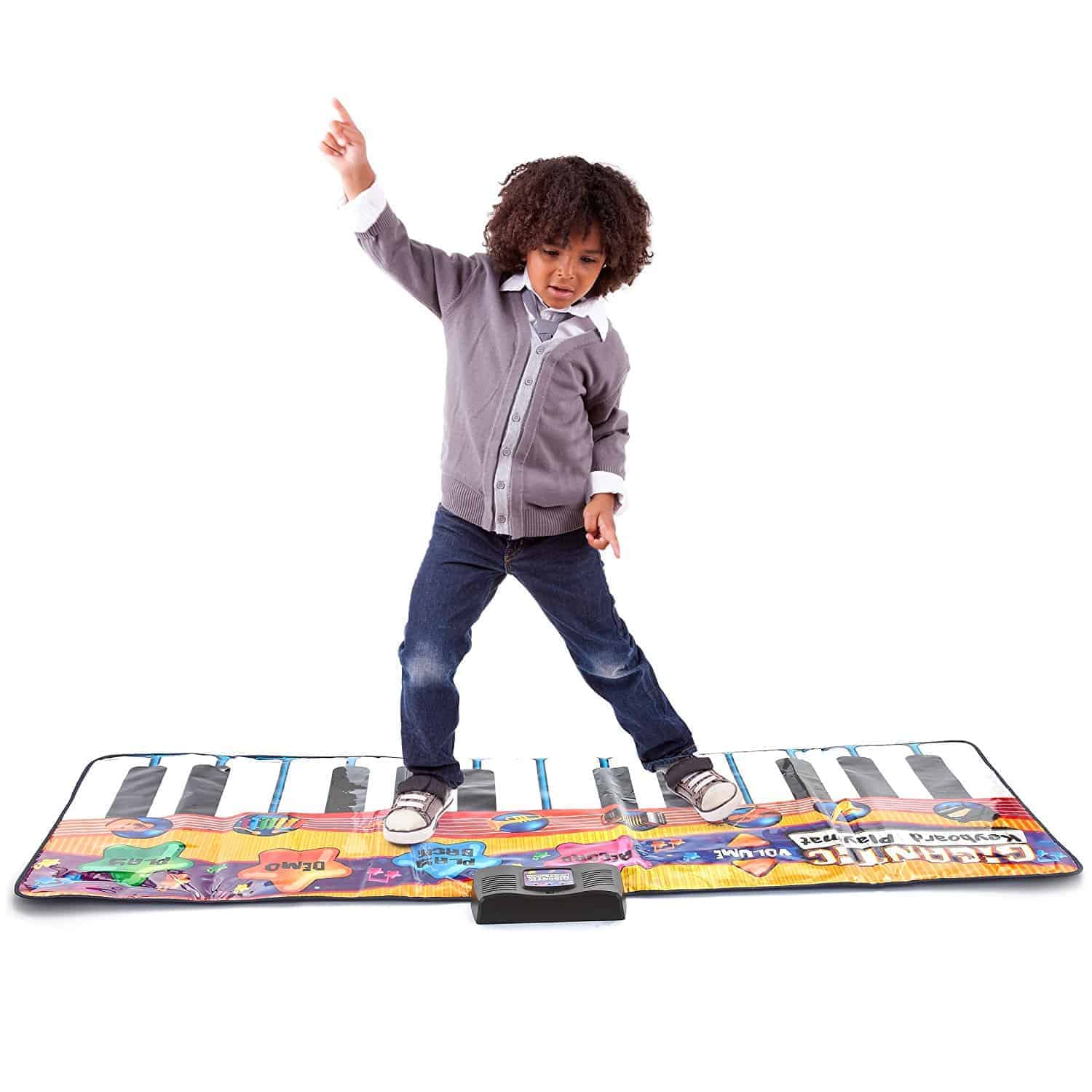Annoying toys kids love - this Dance Mat.