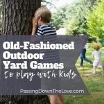 classic outdoor yard games