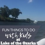 Lake of the Ozarks with Kids pin