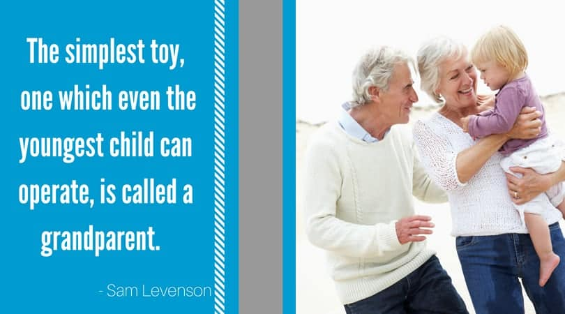 Grandparent quote Sam Levenson